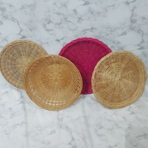Vintage Basket Wall Bundle